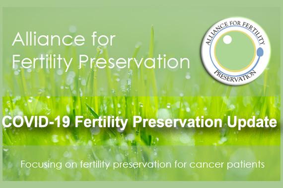 COVID-19 Fertility Preservation Update - blog post image