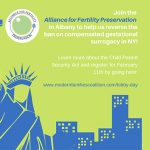 Join the Alliance for Fertility Preservation on February 11th in Albany - blog post image